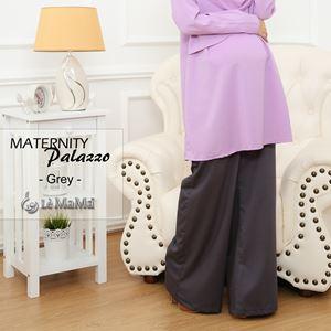 Maternity Palazzo : Grey
