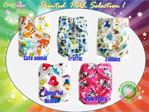 Cozy Babies Printed PUL(SOLD OUT)