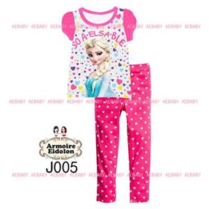 A&E Pyjamas - Frozen Elsa Pink Polkadot (8-12y)
