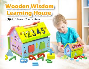 Early Education Wooden wisdom Learning House