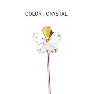 Pin 3D Flower Luxe Crystal