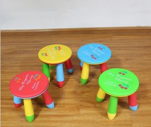 Study Playing Dining Kids Round Shaped Kiddy Round Little Stool (Stool Only)