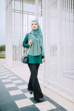 HANA BLOUSE-EMERALD