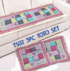 TS02 3pc Toto Set