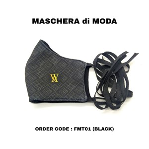 MASCHERA di MODA (FMT01 - BLACK)