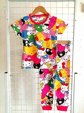 Pyjamas HELLO KITTY AND FRIENDS :  BIG Size 12 -16 (GL)