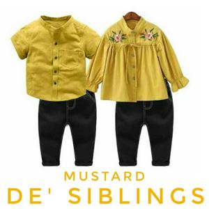 DE SIBLINGS CLOTHING ( 1 PANT + 1 TOP ONLY FOR RM59)
