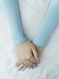 WARDA - POWDER BLUE'