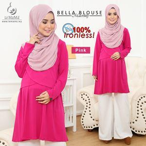 Bella Blouse : Pink