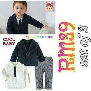 BAMBIRI BOY GENTLEMAN  CLOTHING SET