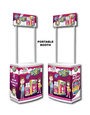 Portable Booth, Khalish Brain A+, 1 pcs