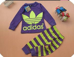 Adidas Pyjamas - Purple - Big