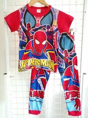 Pyjamas  Short Sleeve SPIDERMAN Red (Kids size 2)