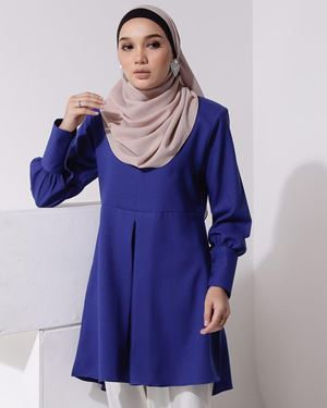 BLOUSE MELUR ( Royal Blue )