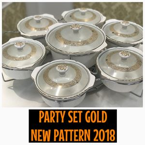 PARTY SET GOLD NEW PATTERN 2018