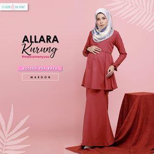 Alarra Kurung - Maroon (Pre Order)