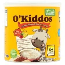 O'Kiddos Pure Mix Fruit Bario Rice Porridge For Age 6+ Months 220g