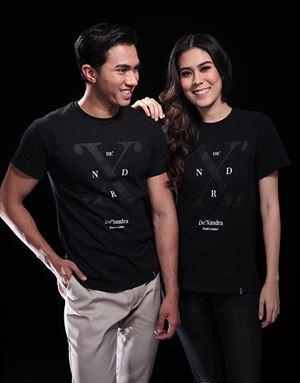 XNDR BLACK T-SHIRT