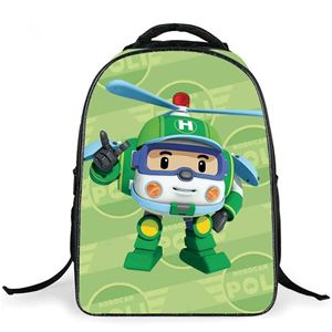 @  ROBOCAR POLI BACKPACK - HELI ( GREEN )