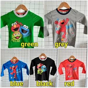 Long Sleeve ELMO shirt size 2, 4, 6, 8