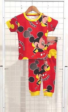 BABY 36M Pyjamas MICKEY FACE RED (GL)