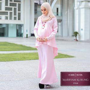 Maryam Kurung - Pink