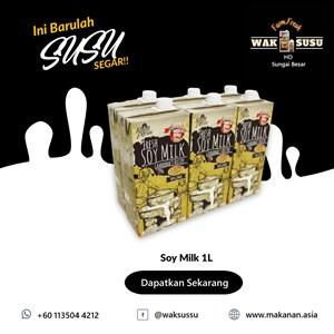 Soy Milk 1L X 12 PKTS
