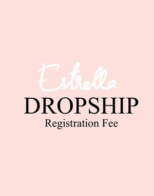 DROPSHIP REGISTRATION FEE