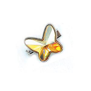 Brooch Butterfly Luxe Golden