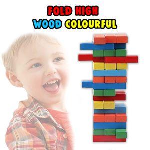 FOLD HIGH WOOD COLOURFUL