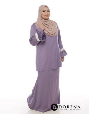 Kurung ANGGUN Sweet Purple