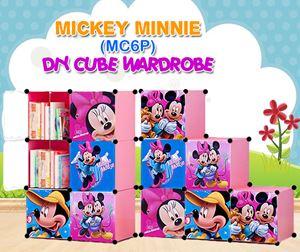 Mickey Minnie Pink 6C DIY Wardrobe (MC6P)