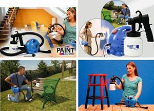 Paint Zoom Professional Electric Paint Sprayer ...
