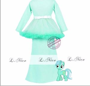 Tutu Kurung - Mint Green
