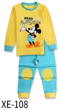 XE-108 'MICKEY YELLOW' Pyjama (2 - 7 tahun)