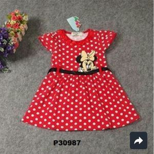 @  P30987  MINNIE RED DRESS