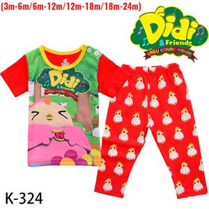 CALUBY K-324 Didi & Friends Pyjamas (3M-24M)