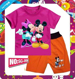 @  SG008  MICKEY MINNIE SHORT