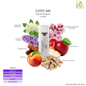 Love Me (For Her) Body Mist - 10ml