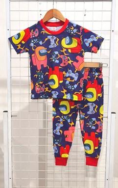 SIZE 2  KIDS Pyjamas AMONG US DARK BLUE (IKIDS)