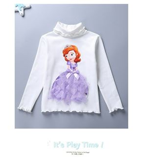 Disney Girls' Sofia the First Long Sleeve T-Shirt