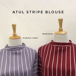 ATUL STRIPE BLOUSE