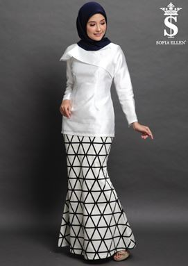 KURUNG FAITH ( WHITE )