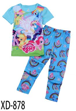 XD-878 PONEY KIDS PYJAMAS