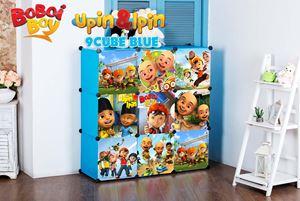 Boboiboy & Upin Ipin BLUE 9C DIY WARDROBE (BB9B)