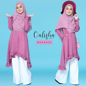 BLOUSE QALISHA - MAGENTA