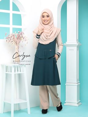 CARLYSA (FOREST GREEN)
