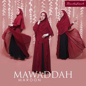 MAWADDAH (MAROON)