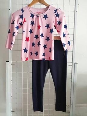 Girl Set 01 : Pink  Superstar  size 4/5 till 6/7