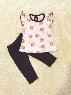[SIZE 12M - 24M] Baby Girl Set : PINK FAIRY ( NR)
